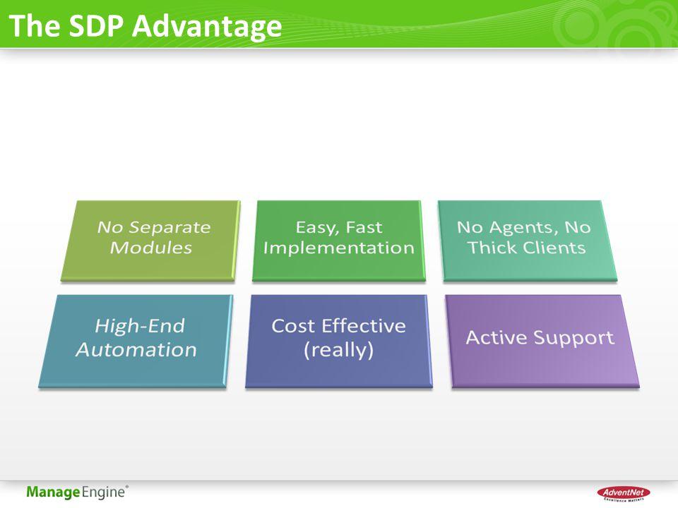 The SDP Advantage
