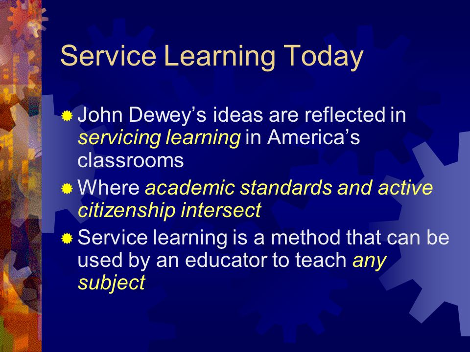 Inclusive Service Learning: Where are we.