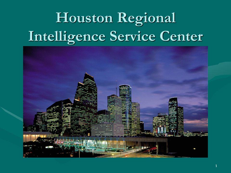 1 Houston Regional Intelligence Service Center