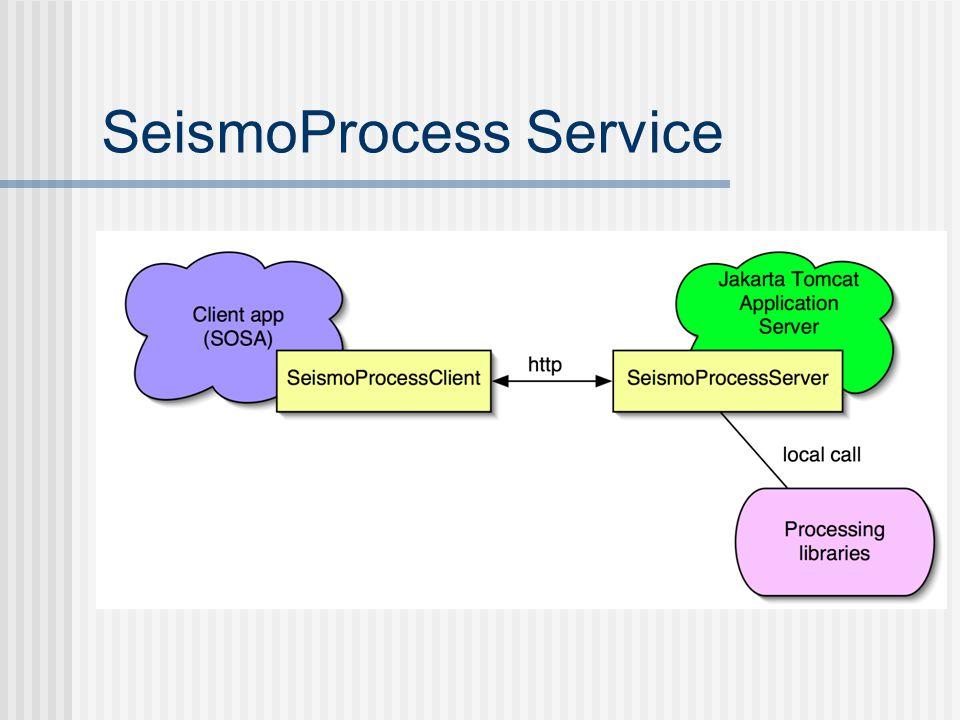 SeismoProcess Service