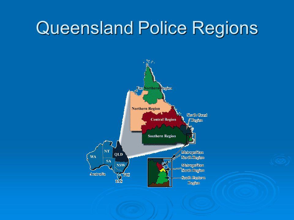 Queensland Police Regions