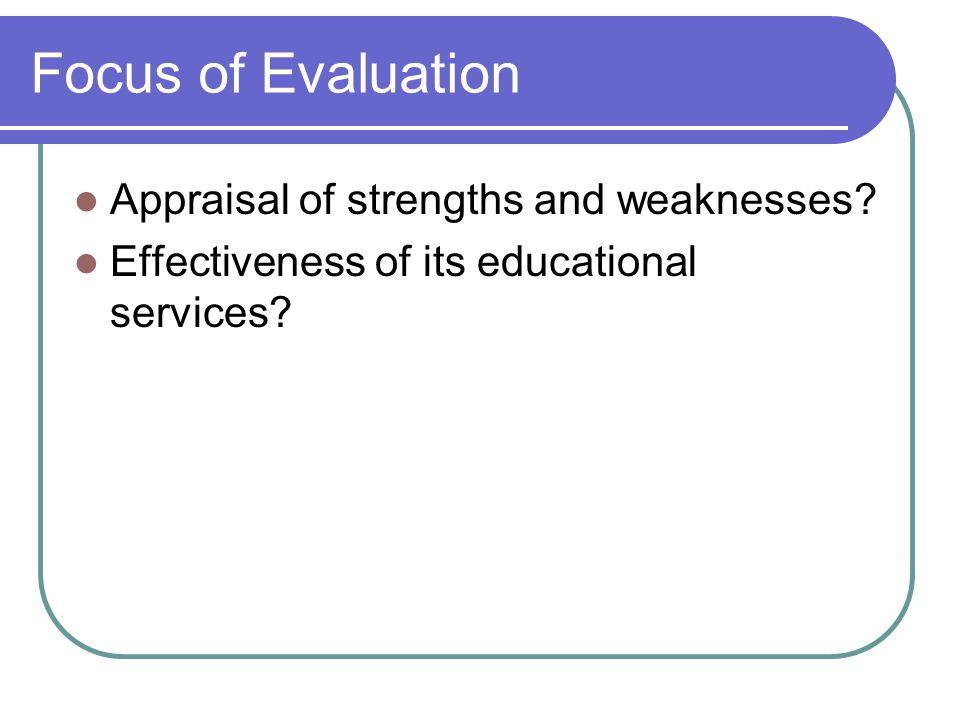 Dennis A.Alonzo 40 Framework for Planning an Evaluation 6.
