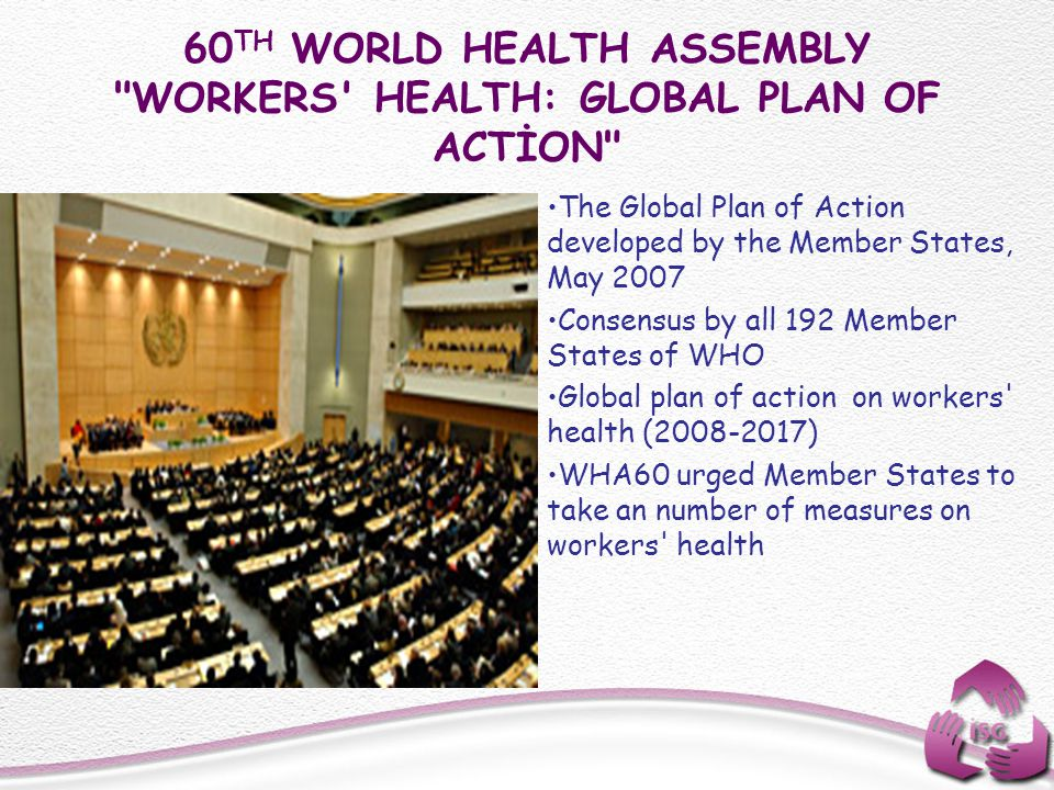60 TH WORLD HEALTH ASSEMBLY