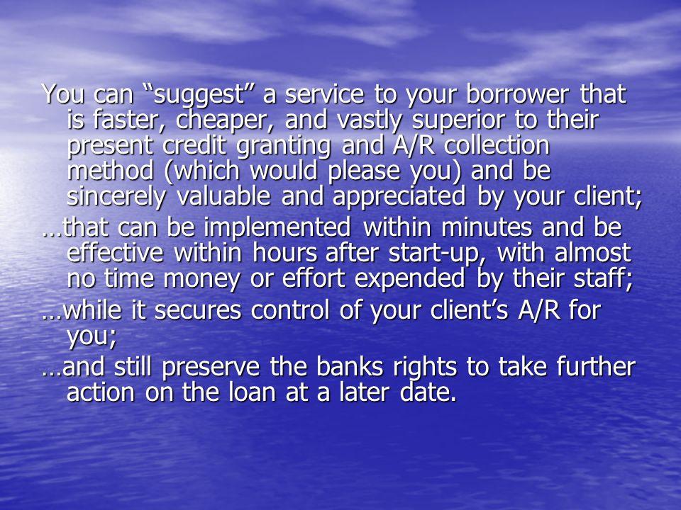 CF suggests prudent credit limits