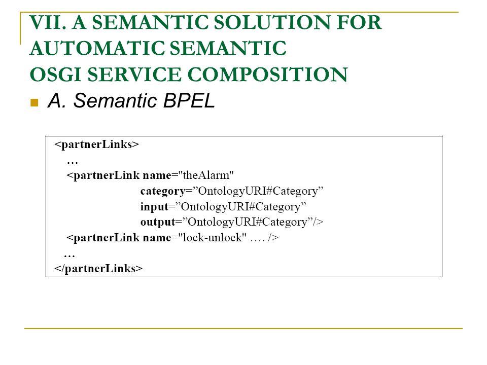 A. Semantic BPEL