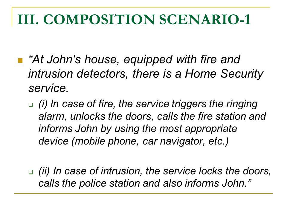 III. COMPOSITION SCENARIO-2