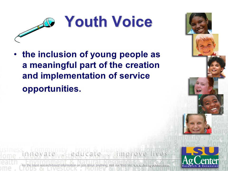 Service-Learning Youth Benefits Personal Development –Responsibility –More Socially Competent –Caring –Self-Esteem –Reduced Behavior Problems