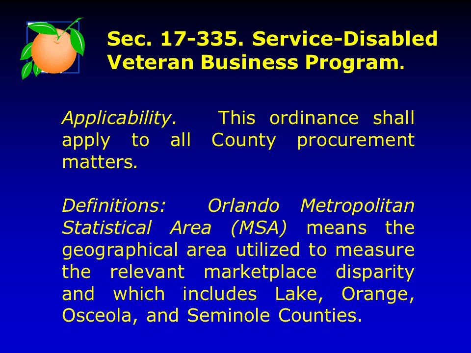 Applicability. This ordinance shall apply to all County procurement matters.