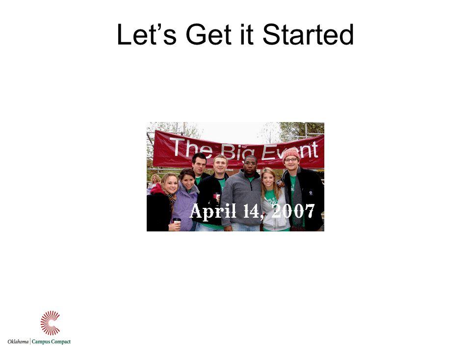 Lets Get it Started