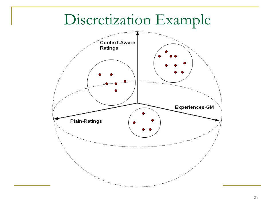27 Discretization Example