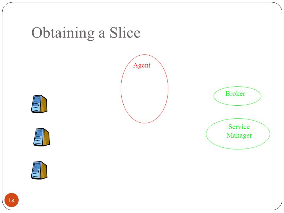 Obtaining a Slice 14 Agent Service Manager Broker