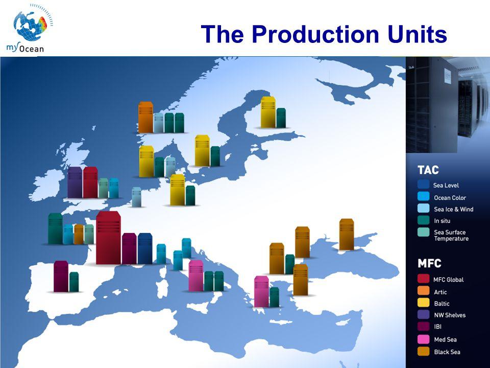 Marine Core Service The Production Units