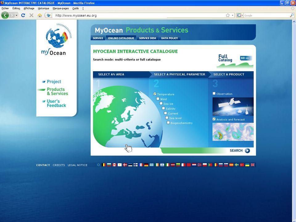 Marine Core Service http://www.myocean.eu.org