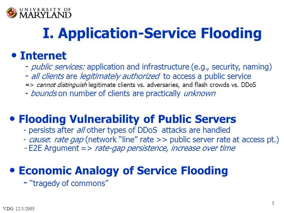 VDG 12/5/2003 24 Phase 1: Client-Proliferation Control Client i Cookie / RCS Server 1.
