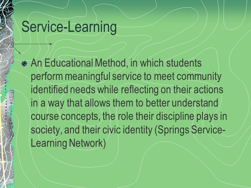 Outcomes Desired learning outcomes include: 1.