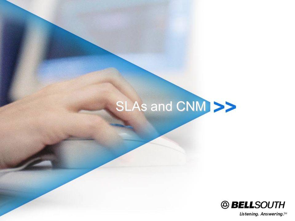 SLAs and CNM