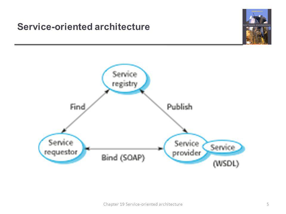 Service-oriented architecture 5Chapter 19 Service-oriented architecture