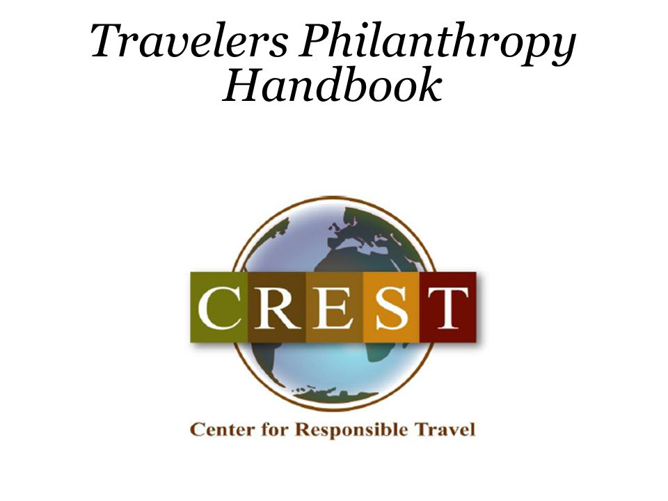Travelers Philanthropy Handbook