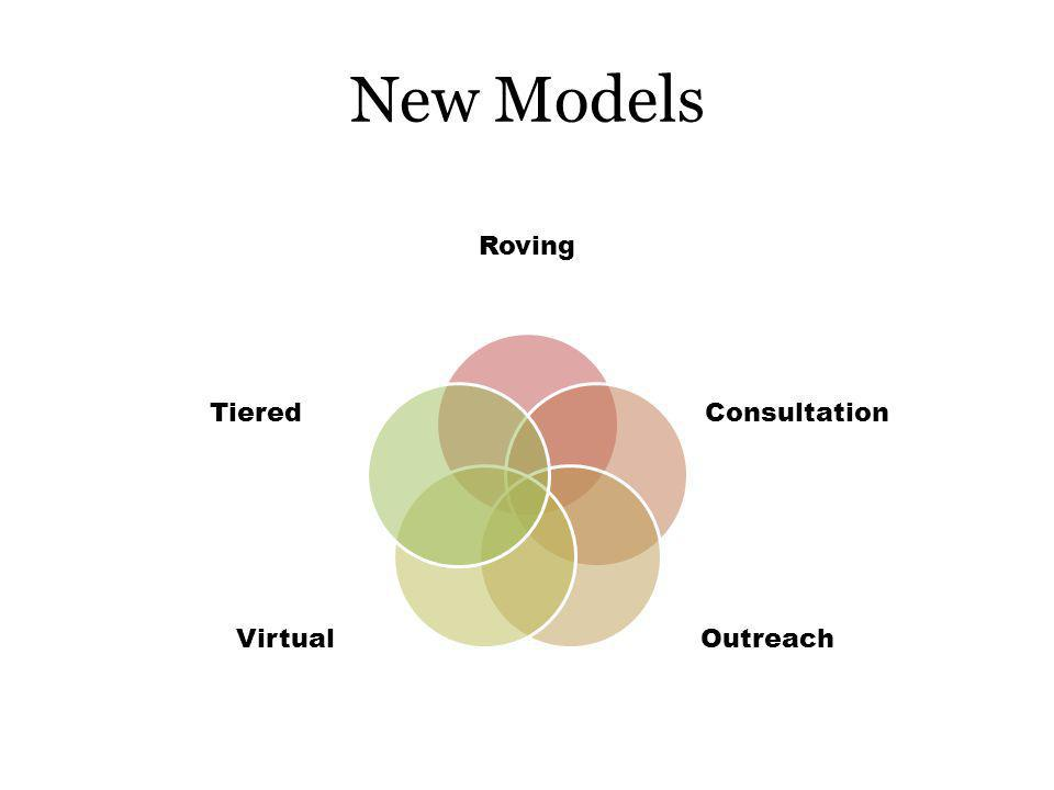 New Models Roving Consultation OutreachVirtual Tiered