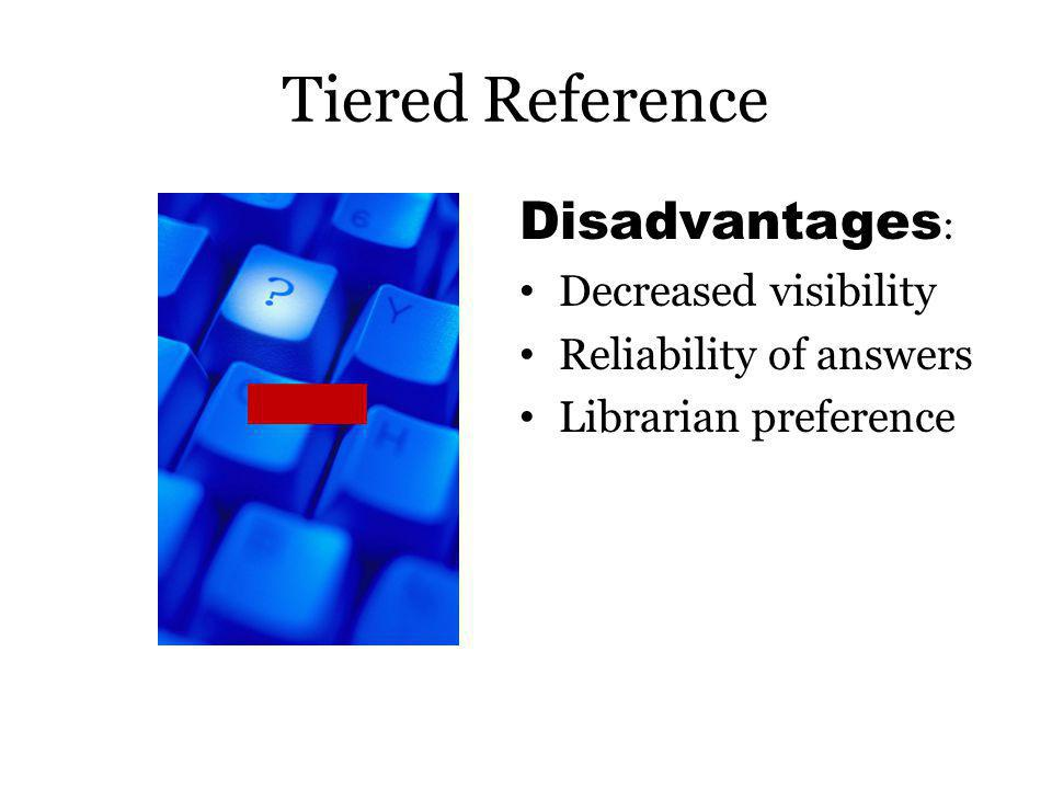 Reference in USG Libraries Traditional DeskTiered Reference