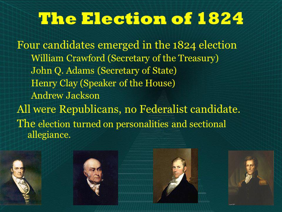 South Carolina claimed – using historical precedent – the right to nullify acts of Congress within its borders Jackson – Called nullification an impractical absurdity Sent Federal troops to southern ports Passed Force Act to compel obedience Gave emotional aura to idea of union Demonstrated willingness of federal government to go to war to preserve its legitimate powers The Jackson Presidency Nullification Crisis: 1828 - 1832