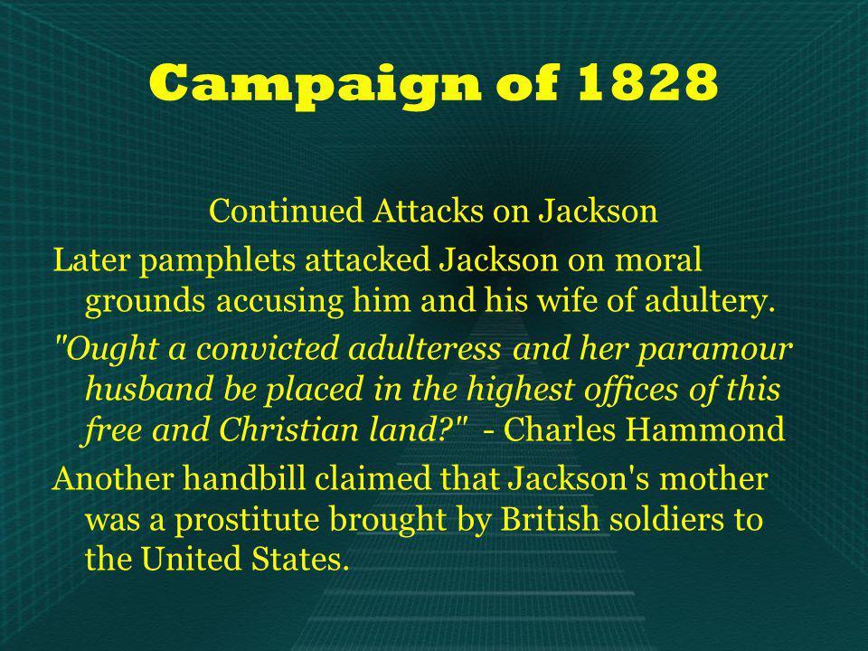 The Election of 1840 <= Martin Van Buren (Democrat) William Henry Harrison => (Whig)