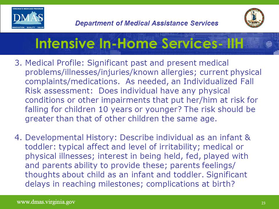 23 Intensive In-Home Services- IIH 3.