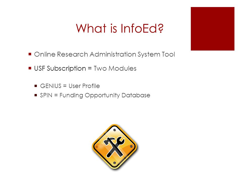 What is InfoEd.