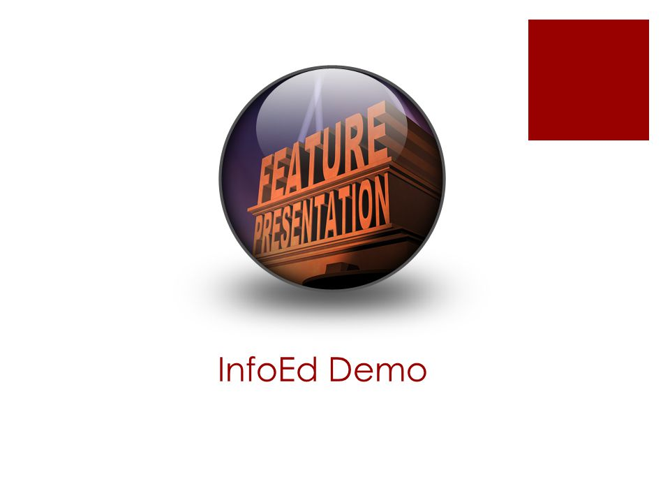 InfoEd Demo
