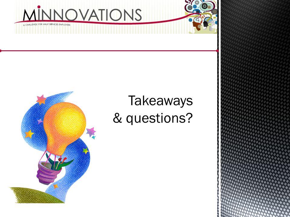 Takeaways & questions?