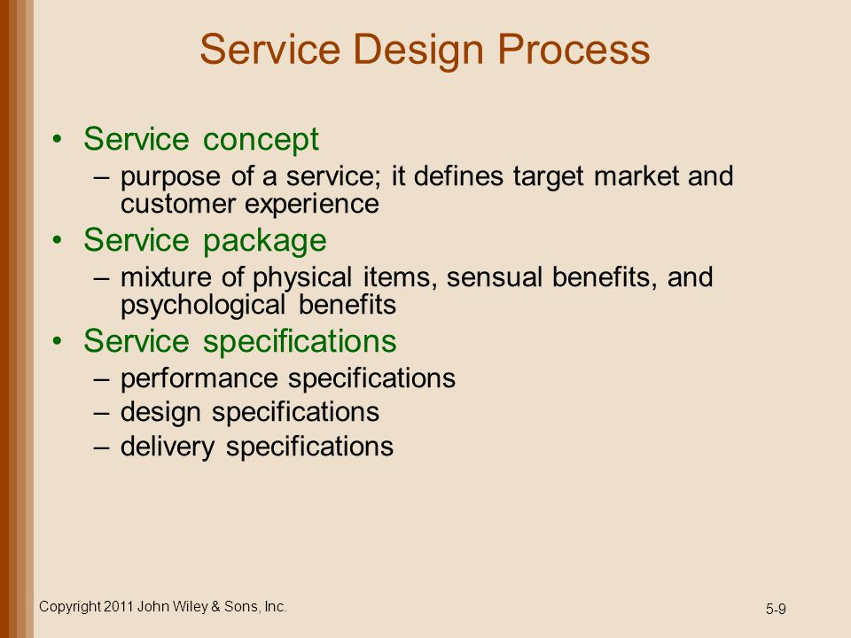 5-40 Basic Multiple-Server Model Example Copyright 2011 John Wiley & Sons, Inc. Three-server system