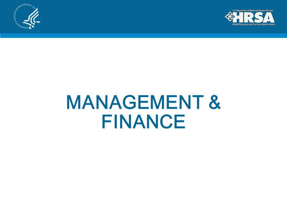 MANAGEMENT & FINANCE