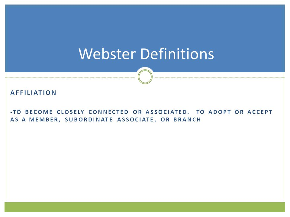 COLLABORATION -TO COOPERATE WITH AN AGENCY OR INSTRUMENTALITY WITH WHICH ONE IS NOT IMMEDIATELY CONNECTED Webster Definitions