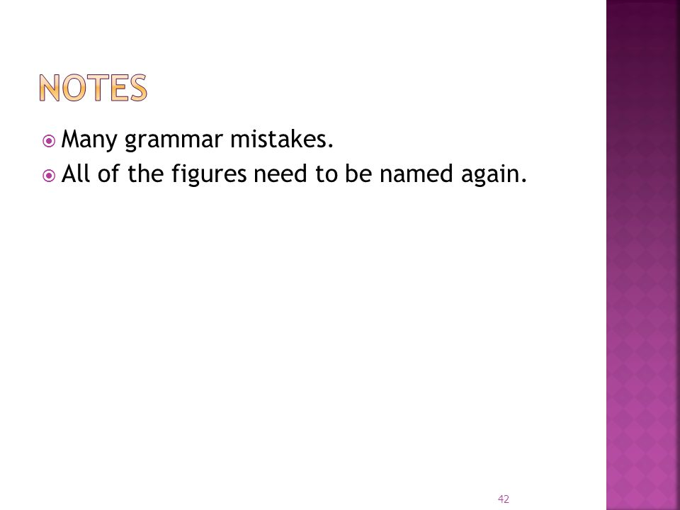 Many grammar mistakes. All of the figures need to be named again. 42