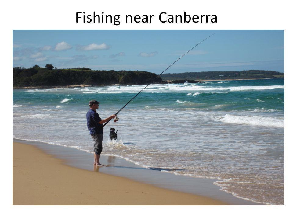 Fishing near Canberra