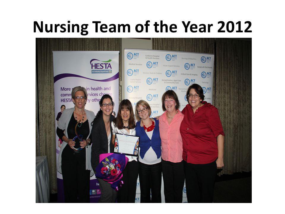 Nursing Team of the Year 2012