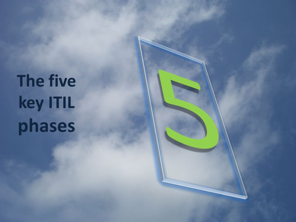 The five key ITIL phases