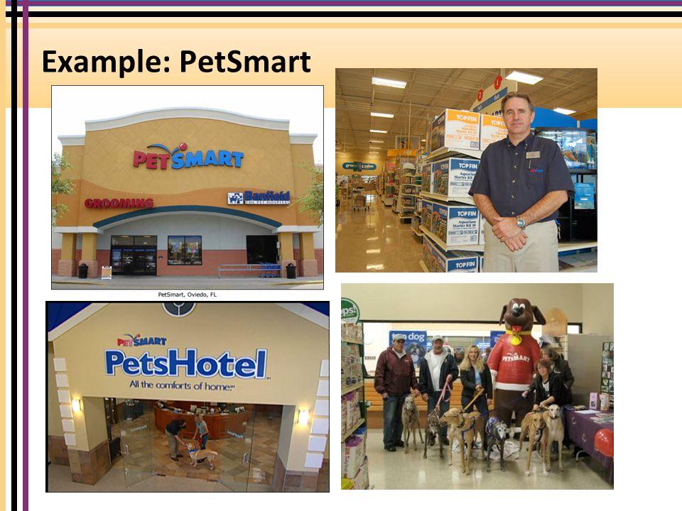 Example: PetSmart