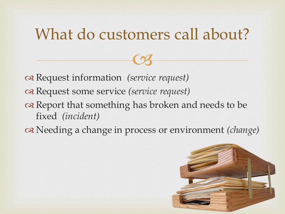 Service Requests Logging (Entitlement Phase)