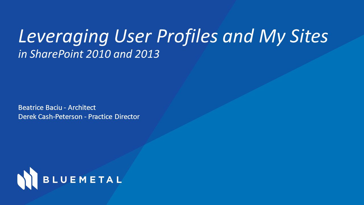 Recap How the user profile service works.The benefits of the user profile service.