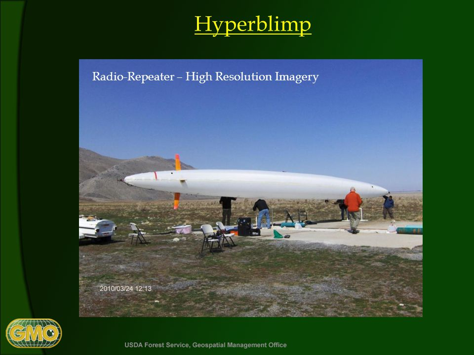 Hyperblimp Radio-Repeater – High Resolution Imagery