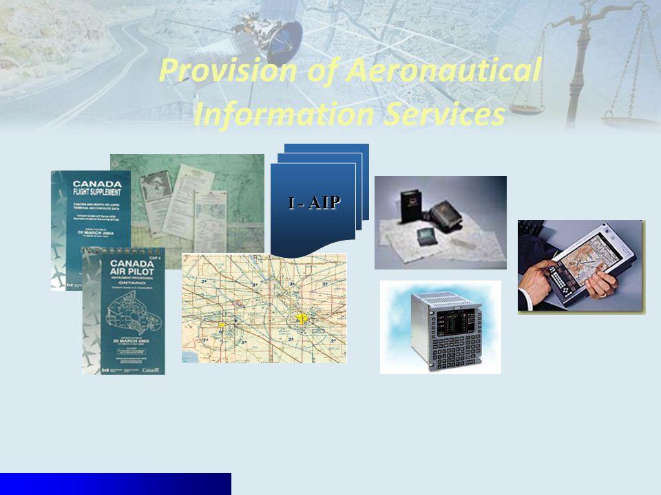 Provision of Aeronautical Information Services I - AIP