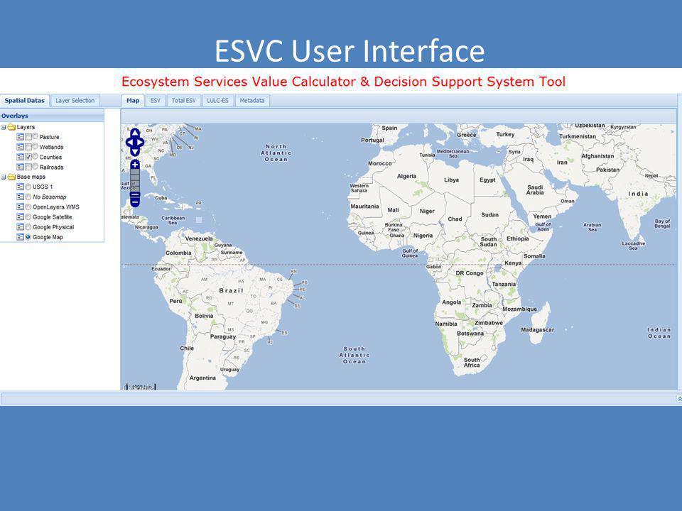 ESVC User Interface