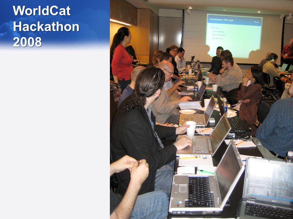WorldCat Hackathon 2008