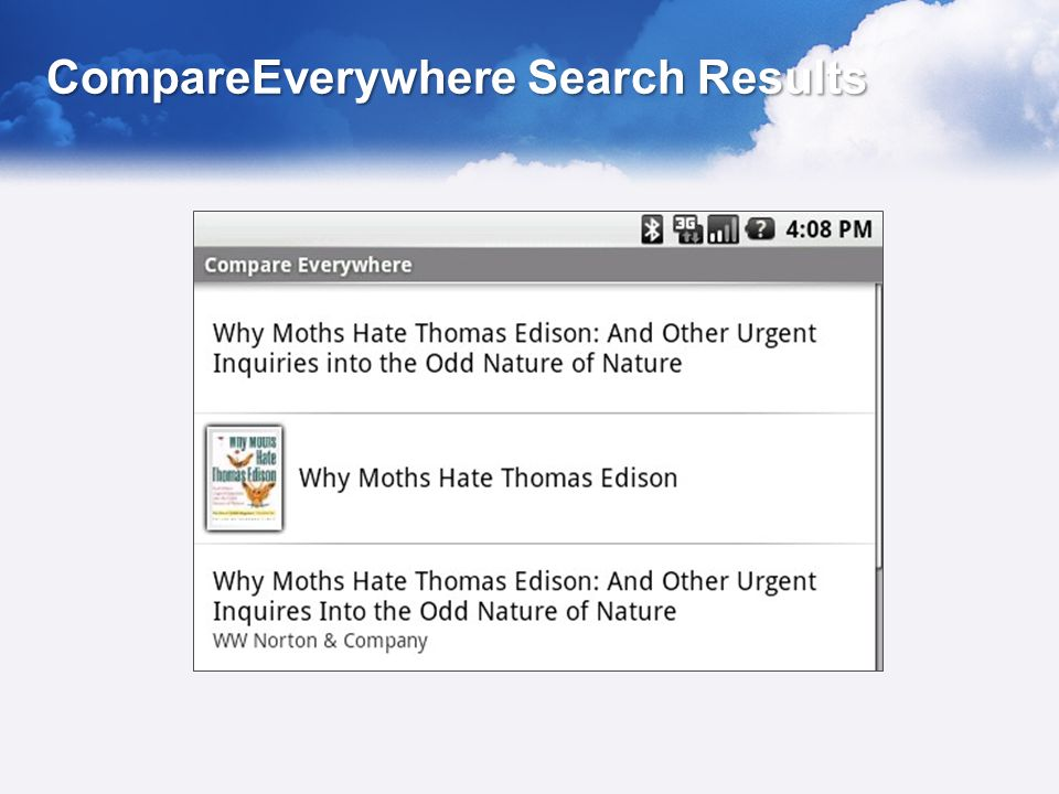 CompareEverywhere Search Results