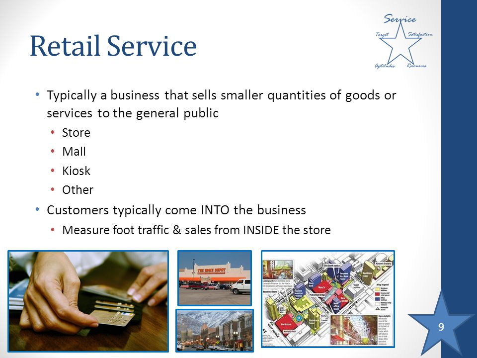 10 Wholesale Service Typically a business that buys large quantities of goods from various producers or vendors, warehouses the goods, and resells smaller quantities to retailers or other wholesalers Distributor: wholesaler that carries ONE brand Some businesses manage their own distribution centers