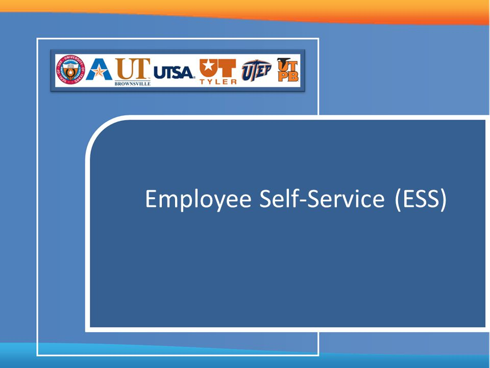 Employee Self-Service (ESS)