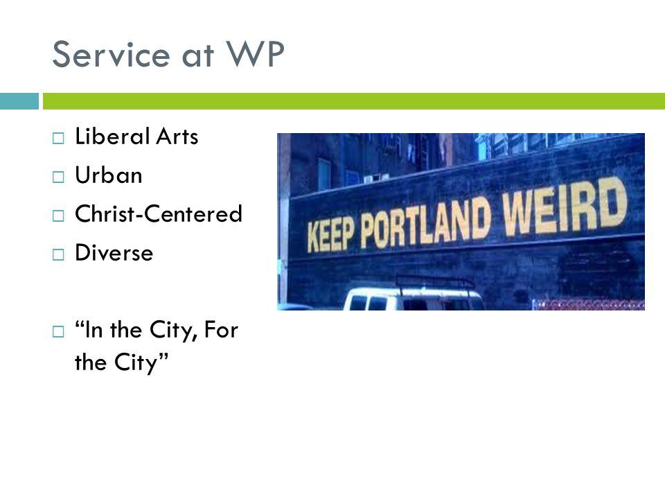 Why Serve Portland.