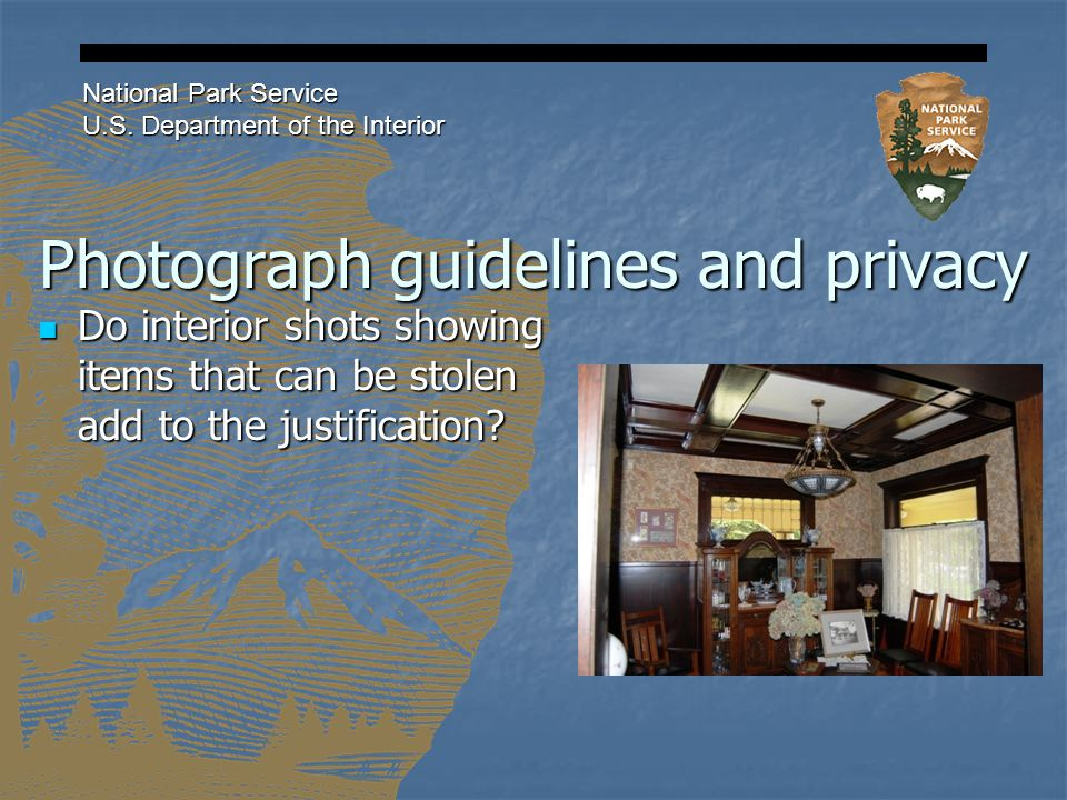 Photograph guidelines and privacy National Park Service U.S.