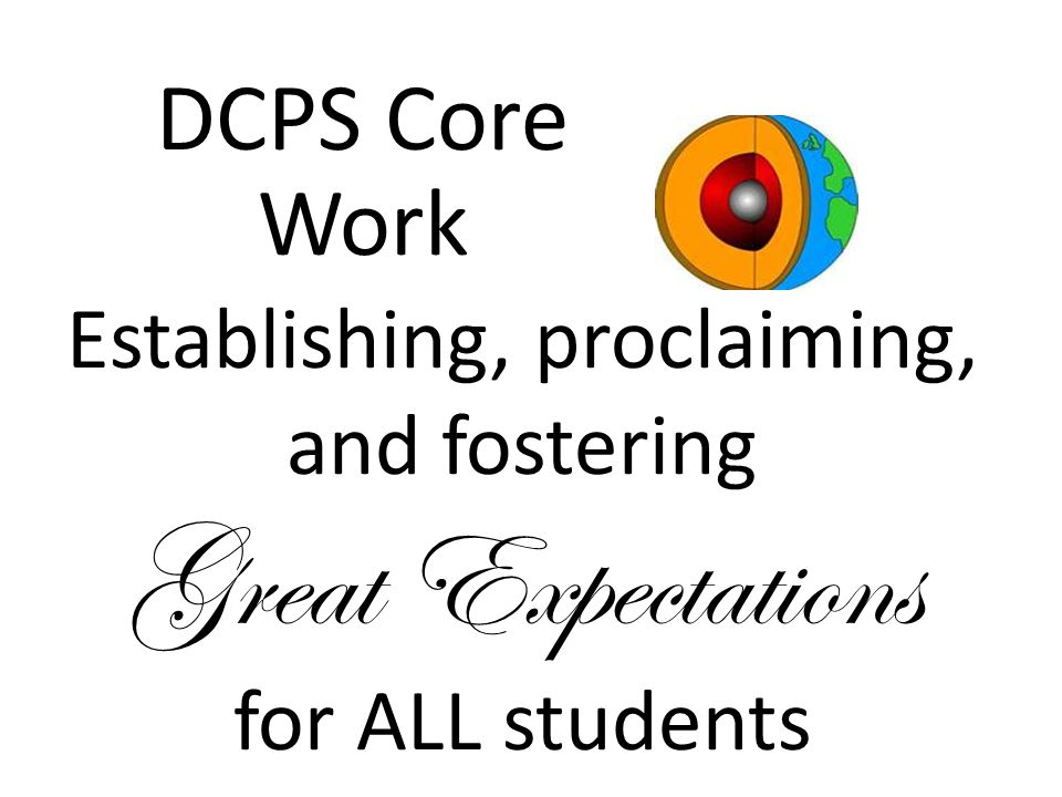 Continuously Improving Instructional Quality DCPS Core Work